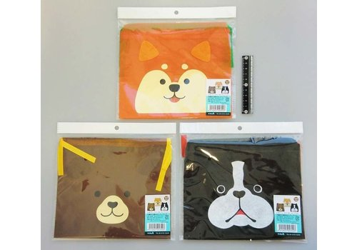 Non woven cloth bag patch N animal
