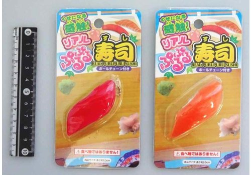 Sushi motif jelly strap