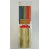 Colored Bamboo Chopsticks 5P