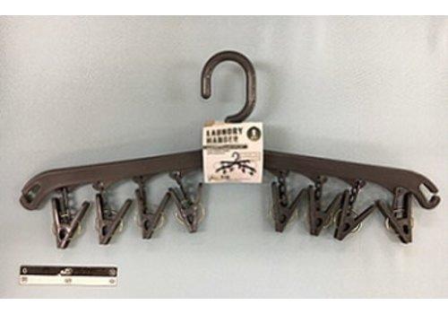 2 way 8 pinch hanger gray : PB