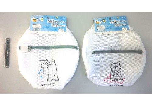 Animal needle worked W mesh laundry net drum type : PB