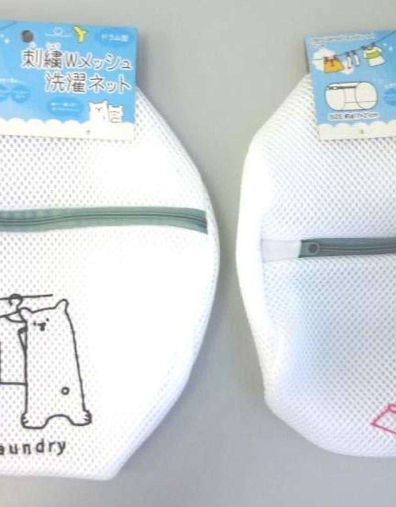 Pika Pika Japan Animal needle worked W mesh laundry net drum type : PB