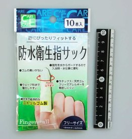 Pika Pika Japan Nitrile rubber thin water proof finger suck 10p : PB
