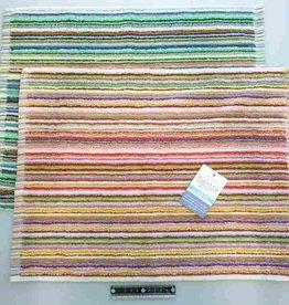 Pika Pika Japan Cotton residual yarn bath mat 38x50cm : PB