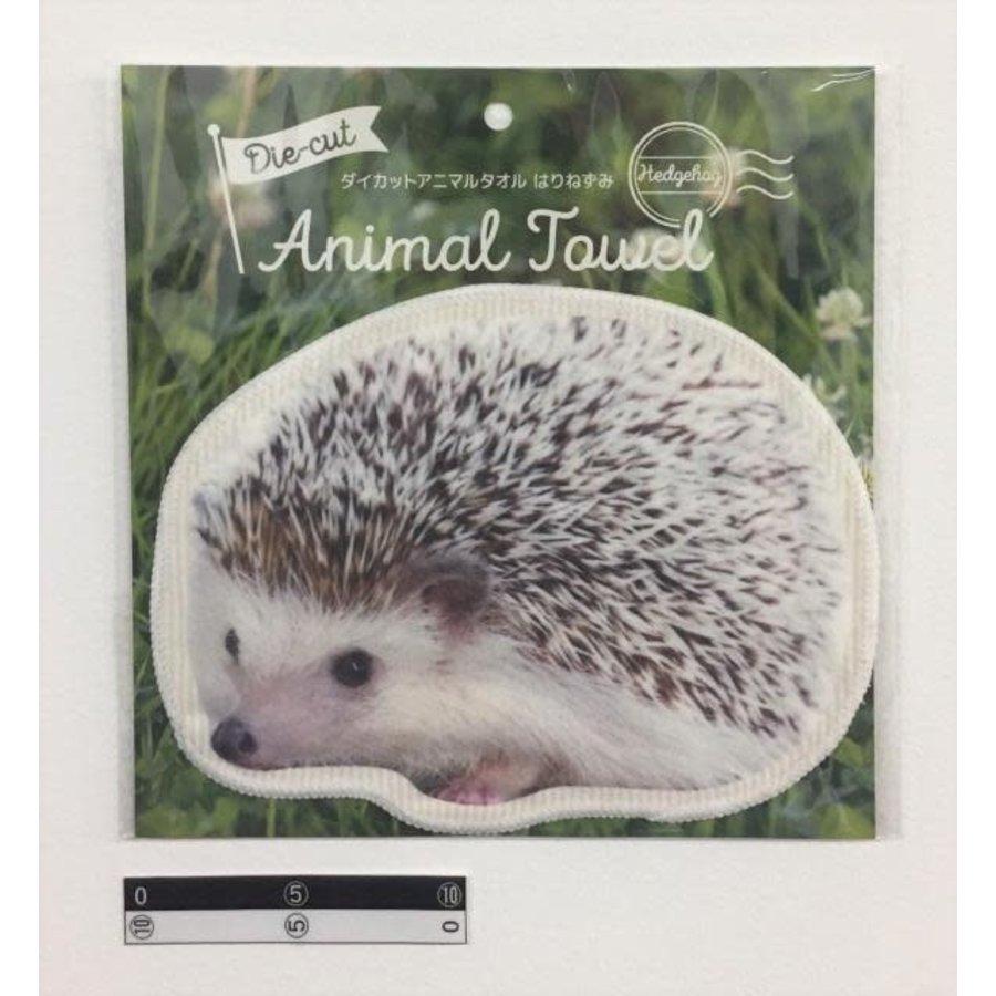 Die-cut towel hedgehog-1