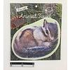 Pika Pika Japan Die-cut animal towel?Squirrel : PB
