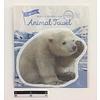 Die-cut animal towel polar bear : PB