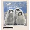 Die-cut towel penguin