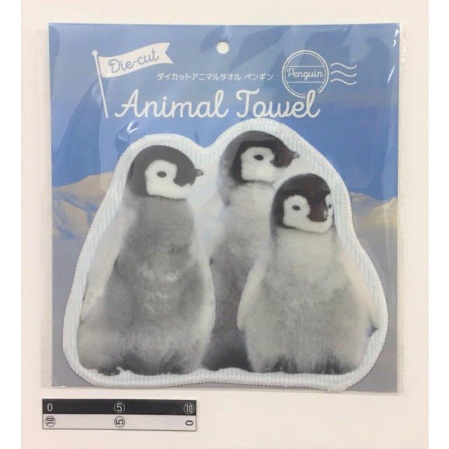 Die-cut towel penguin-1