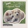 Pika Pika Japan Die-cut animal towel dog : PB