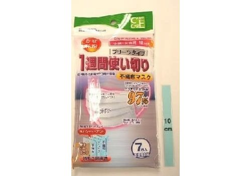Nonwoven fabric mask use up for a week M7P:PB