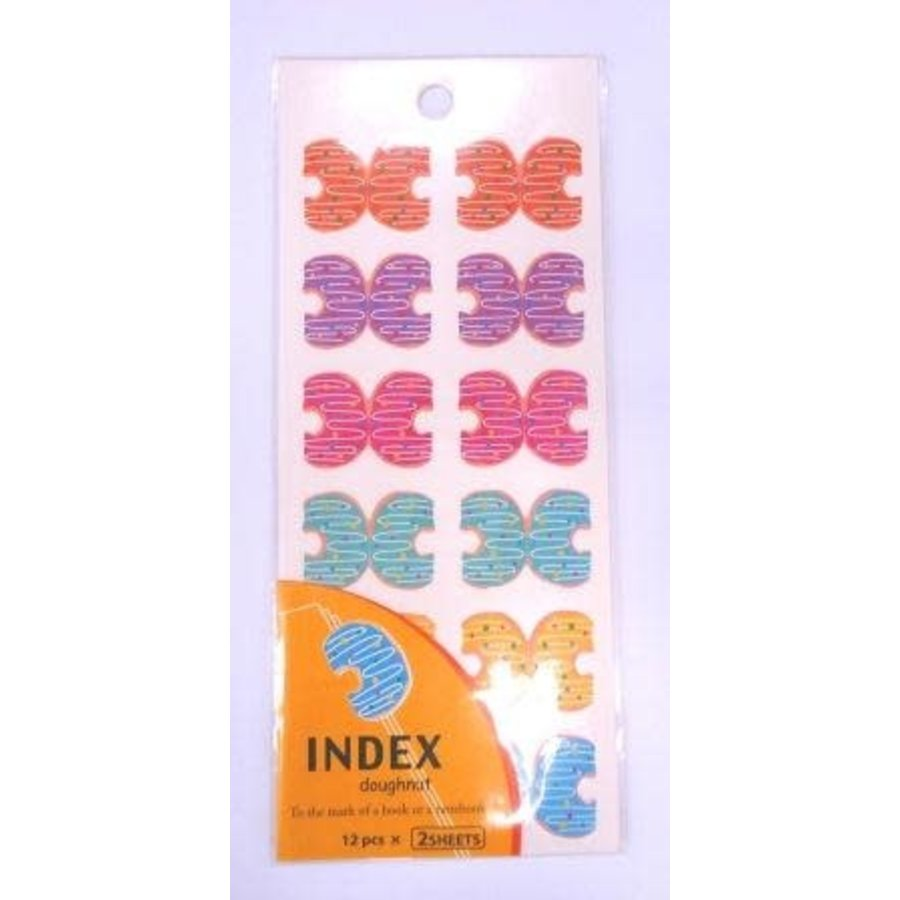 Index sticker, Donut-1