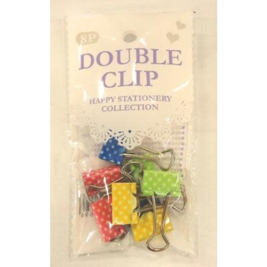 19mm double clip 8p dot : PB-1