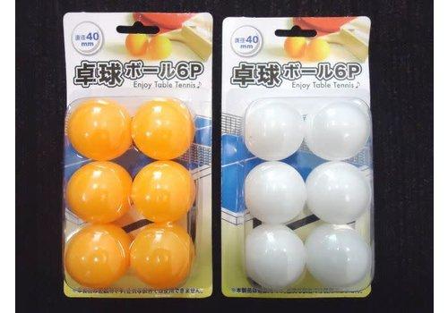 Ping pong ball 6p