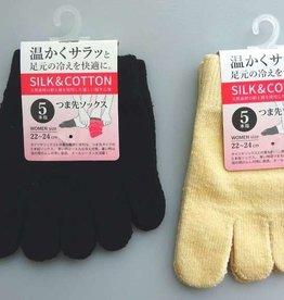 Pika Pika Japan Women's 5 toe socks : PB