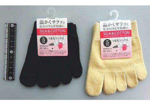 Women's 5 toe socks : PB
