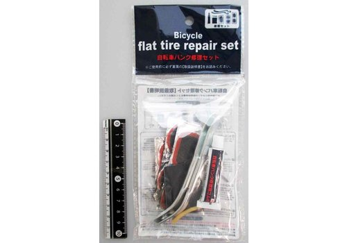 Bicycle tire repair set