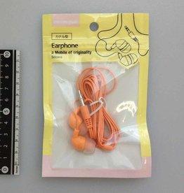 Pika Pika Japan Earphone canal type pastel orange : PB