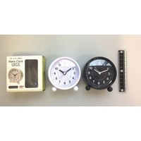 Alarm clock with stand