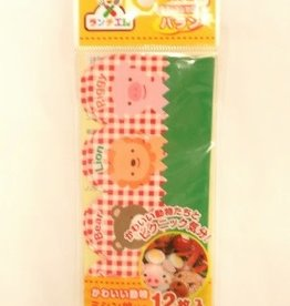 Pika Pika Japan Lunch studio C green leaf made by vinyl 12 pieces :PB