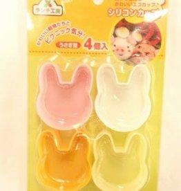 Pika Pika Japan Lunch studio silicon C rabbit type 4P:PB