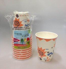 Pika Pika Japan Insulation cup 205ml 10P:PB