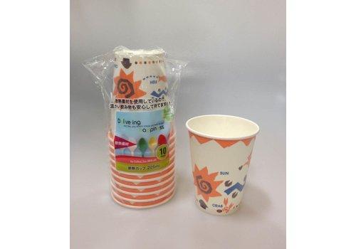 Insulation cup 205ml 10P:PB