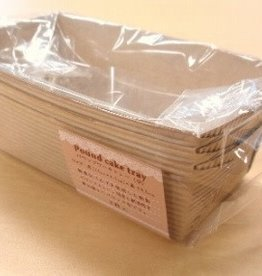 Pika Pika Japan Pound cake tray M 3p : PB