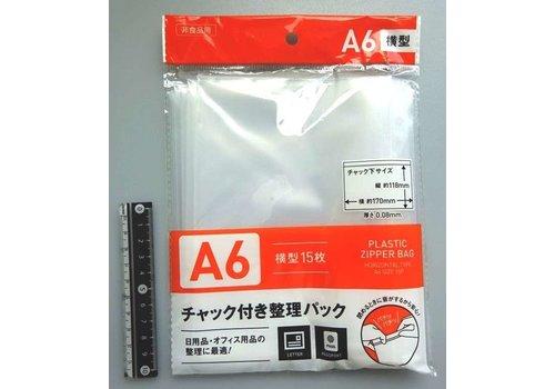 Slider pouch, A6 horizontal, 15p