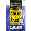 Pika Pika Japan Colored (invisible inside) slider pouch, A5, 10p