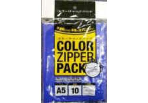 Color Zipper Bag A5 10P