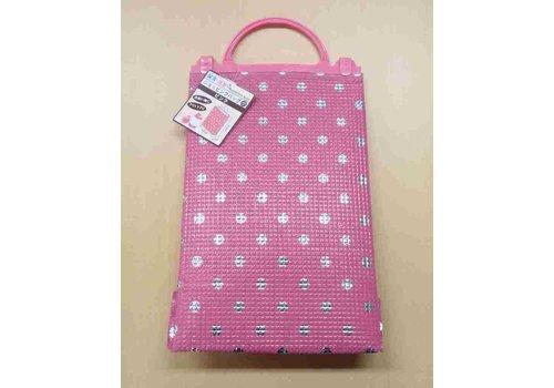 Shopping bag S pink