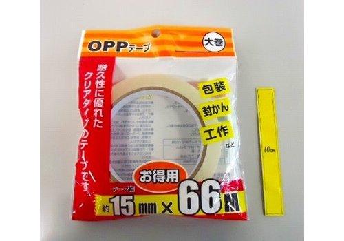 OPP tape 15mm x 66m : PB
