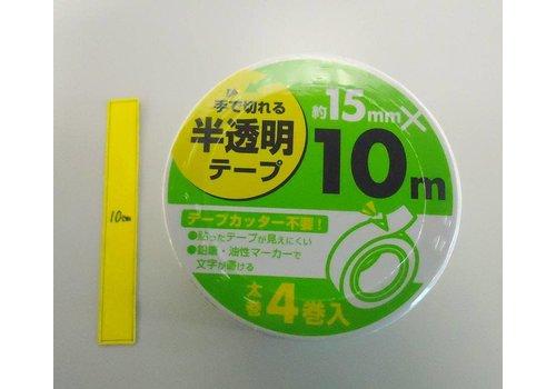 Hatl transparent tape, 15mmx10m