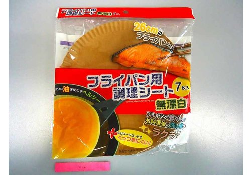 Cooking paper for frying pan, 7sheets