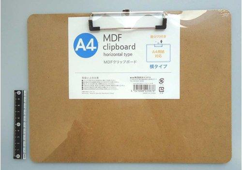 MDF clip board A4 horizontal : PB