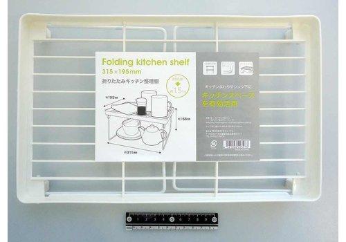 Foldable kitchen shelf, 315x195cm