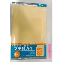 Kraft paper envelope with gusset A4 2p : PB