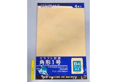 Kraft paper envelope No 1 4p : PB