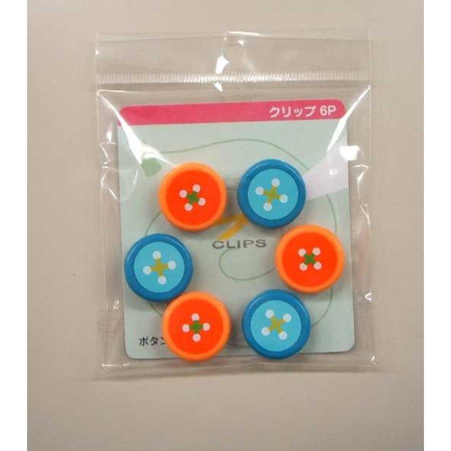 Small clip, button, 6p-1
