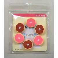 Clip Set 6P doughnut