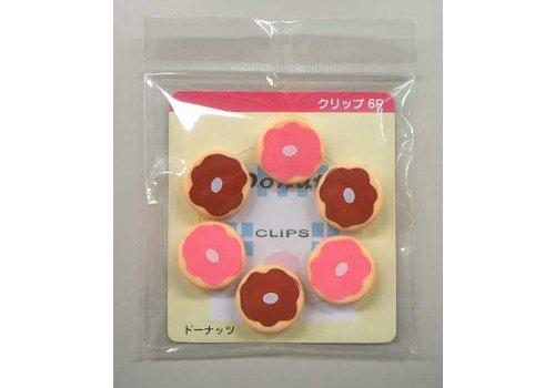 Small clip, donut, 6p
