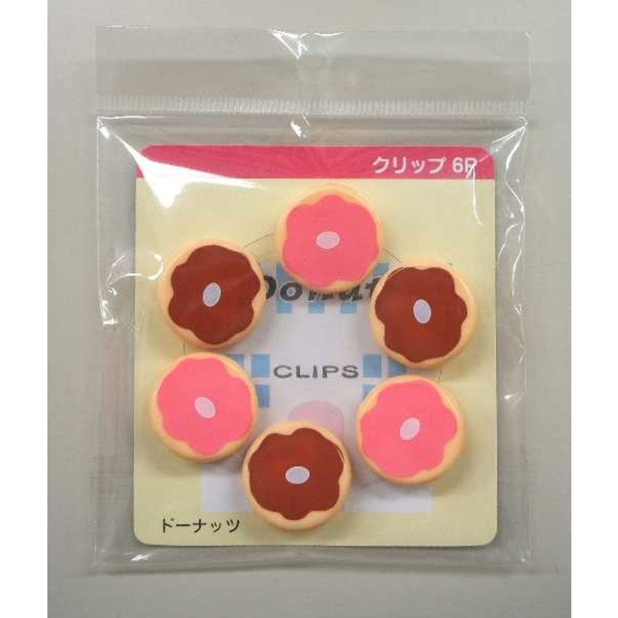 Clip Set 6P doughnut-1