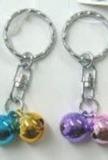 Pika Pika Japan 4 size turnable bell key rings : PB