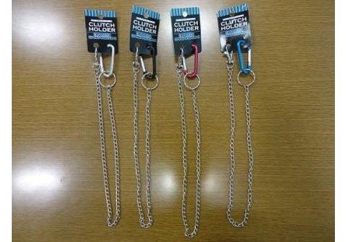 Carabiner clip, chain