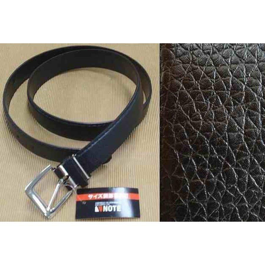 Belt with Size adjustment A Black-1