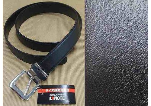 Belt with Size adjustment B Black