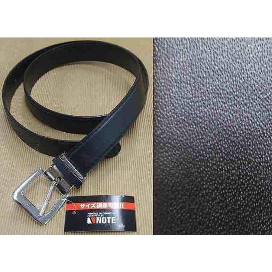 Belt with Size adjustment B Black-1