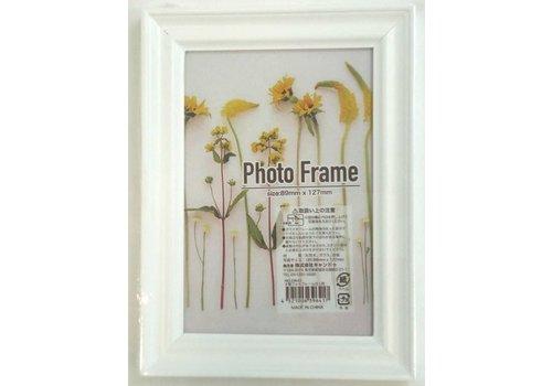 Wood photo frame wh L size : PB