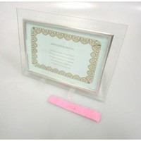 Glass photo frame postcard size : PB